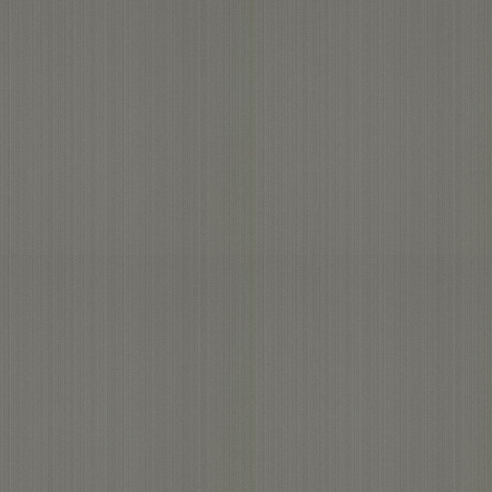 Strie Wallpaper - Grey - by Zoffany