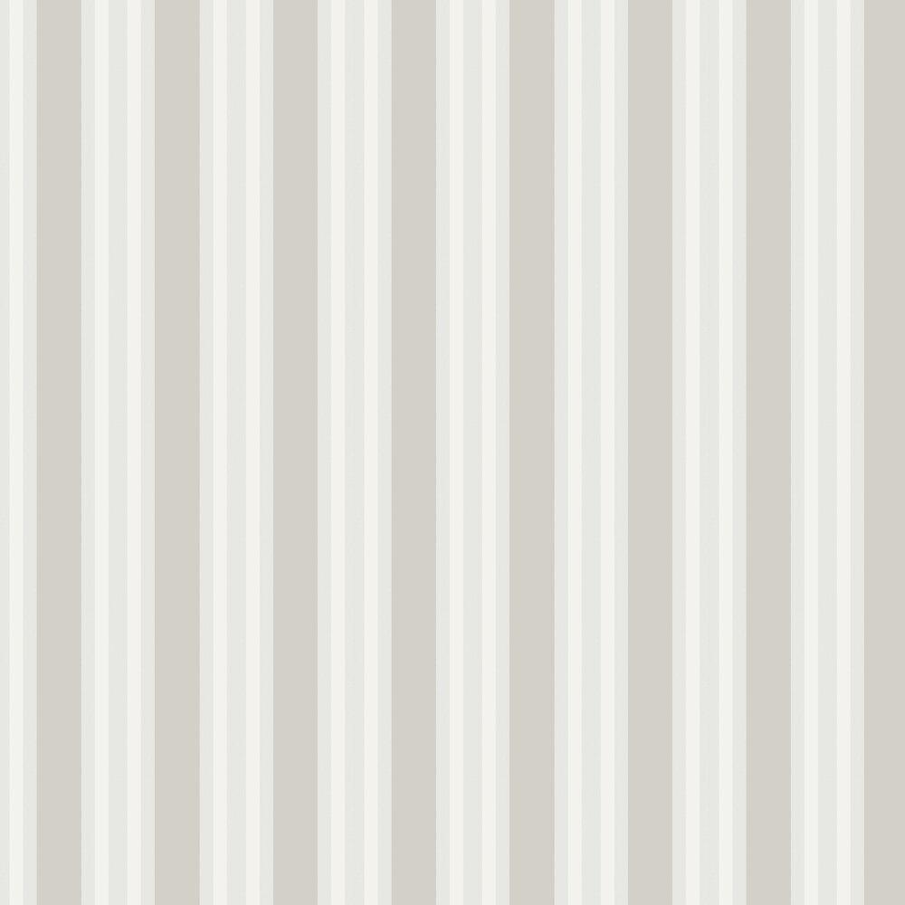 Polo Stripe Wallpaper - Stone - by Cole & Son