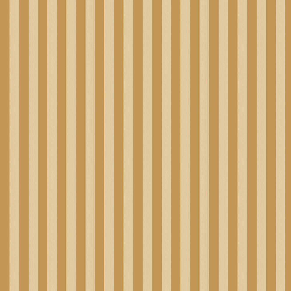Regatta Stripe Wallpaper - Gold & Sand - by Cole & Son