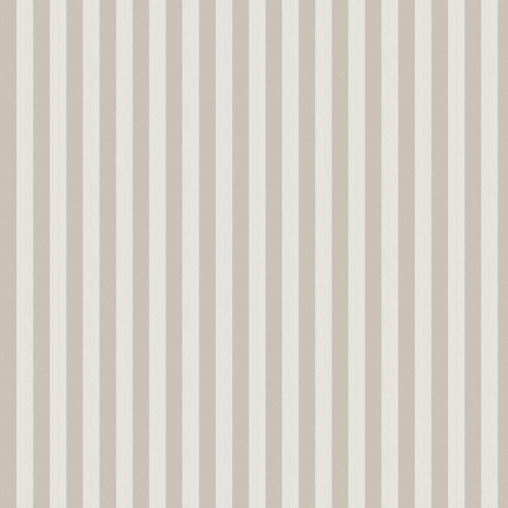 Regatta Stripe Wallpaper - Stone & Parchment - by Cole & Son