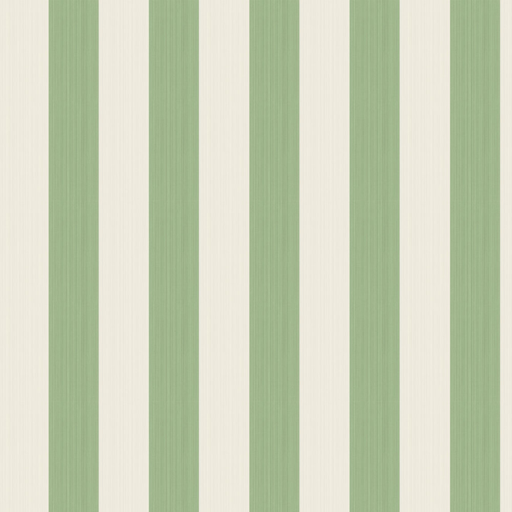 Jaspe Stripe Wallpaper - Green - by Cole & Son