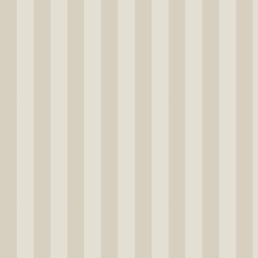 Glastonbury Stripe Wallpaper - Parchment - by Cole & Son