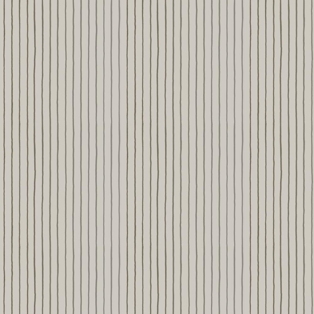 College Stripe Wallpaper - Linen - by Cole & Son