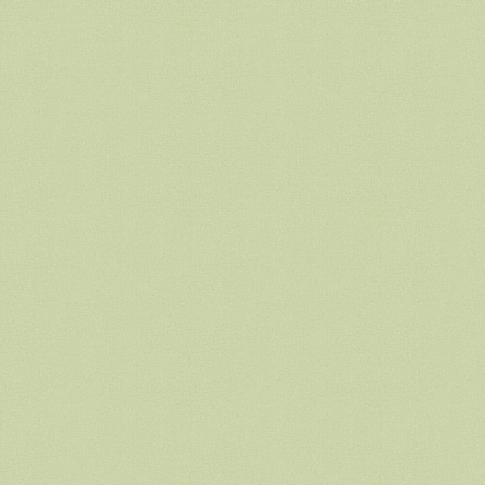 Linen Wallpaper - Light Green - by Albany