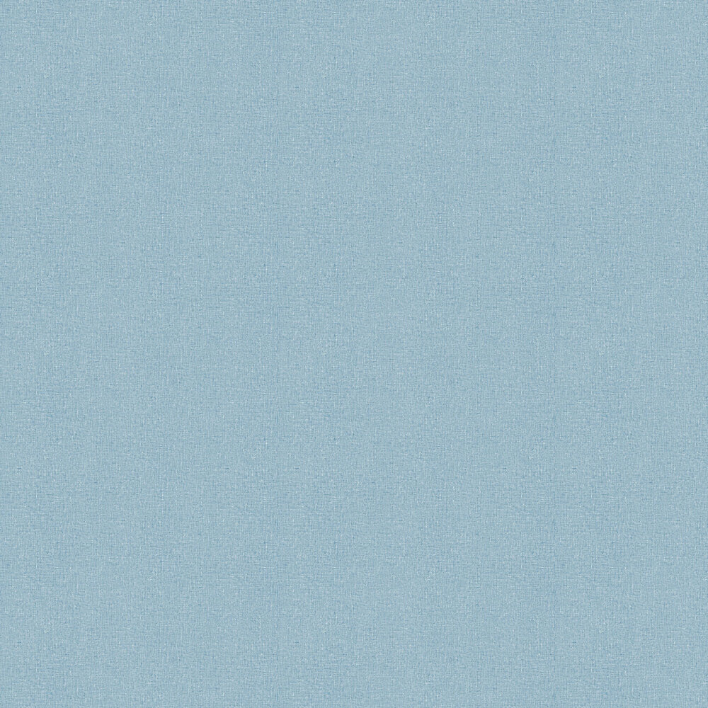 Linen Wallpaper - Blue - by Albany