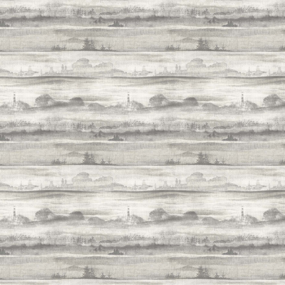 Elizabeth Ockford Sorengo Silver Grey Wallpaper - Product code: WP0101001