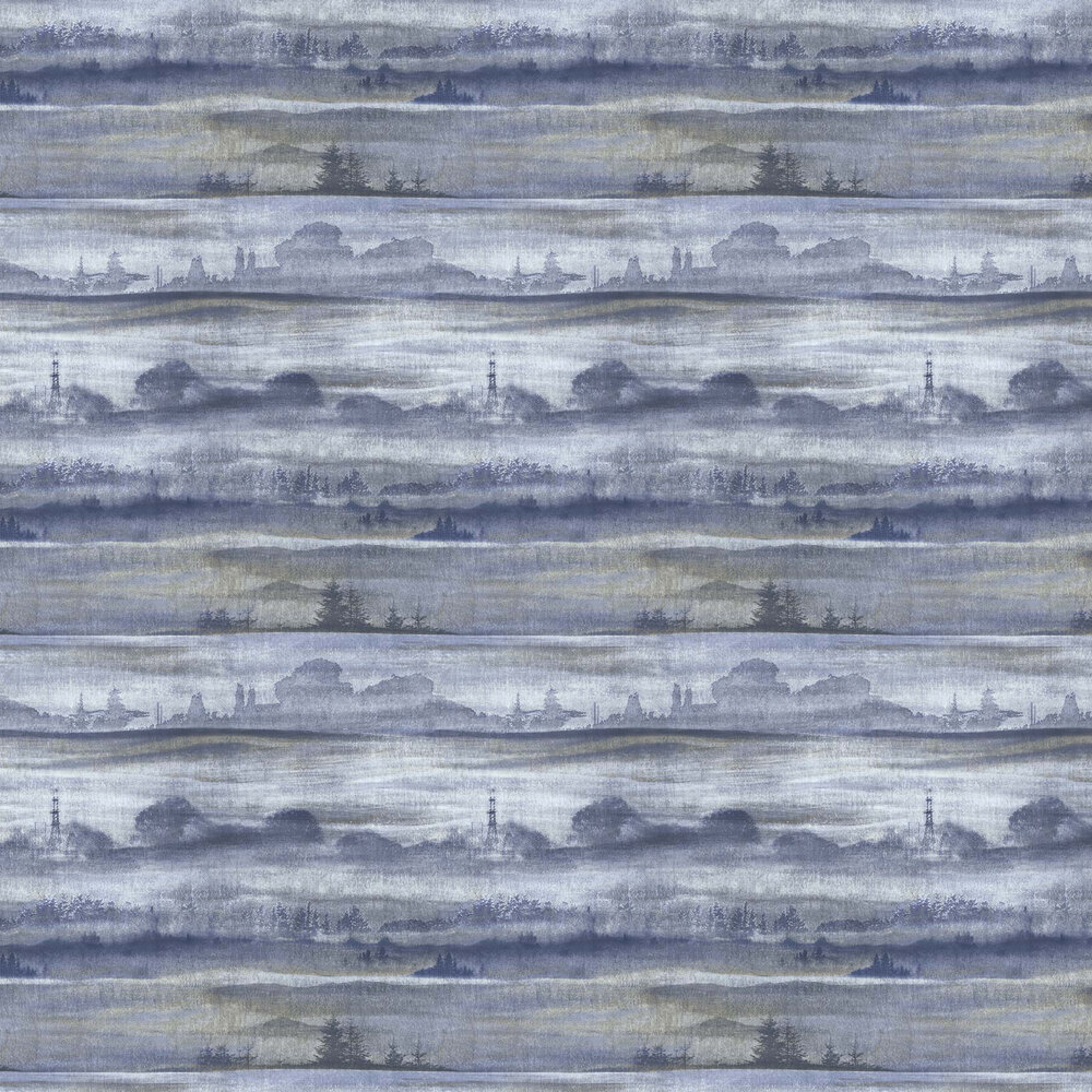 Elizabeth Ockford Sorengo Dark Blue Wallpaper - Product code: WP0101002