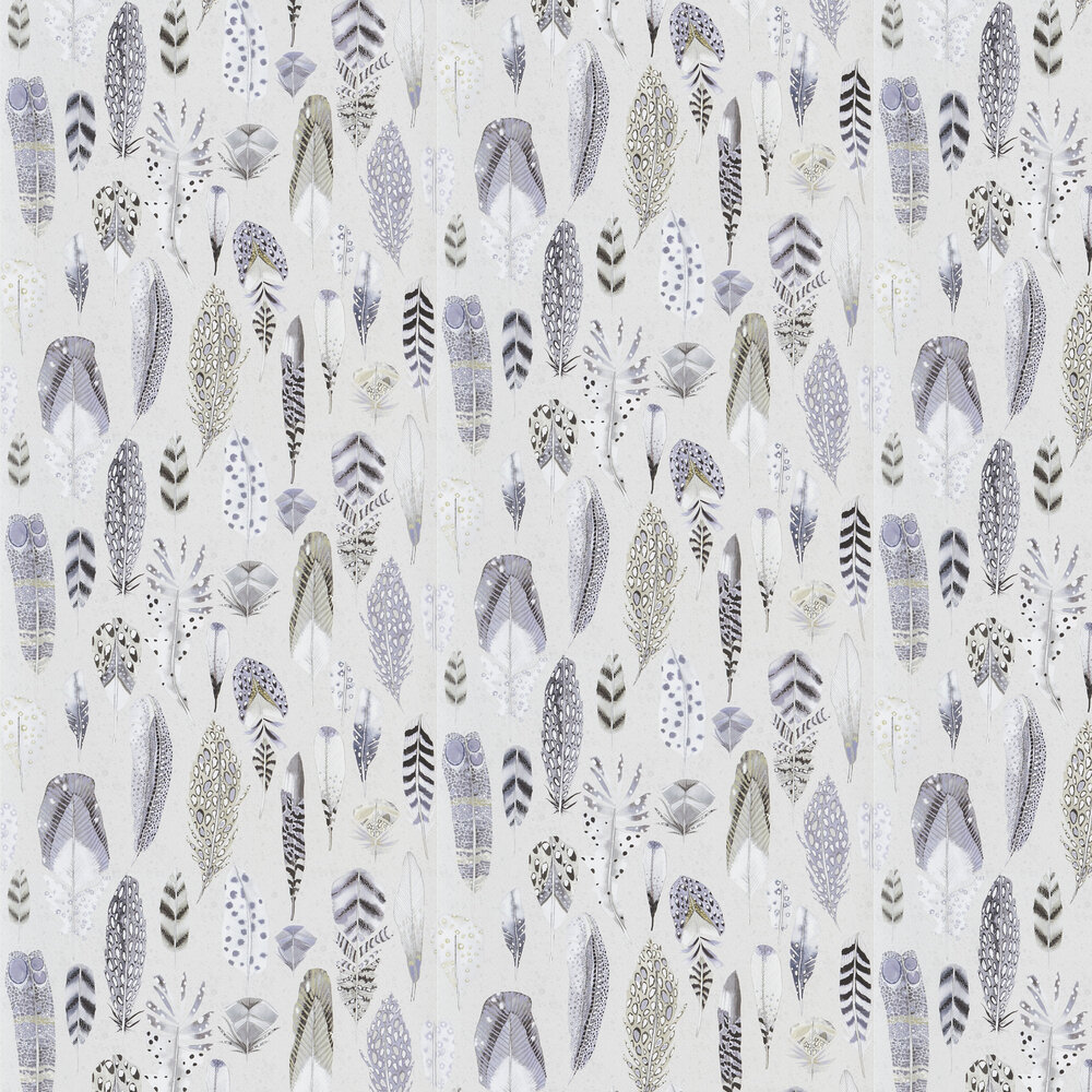 Quill Wallpaper - Dove - by Designers Guild