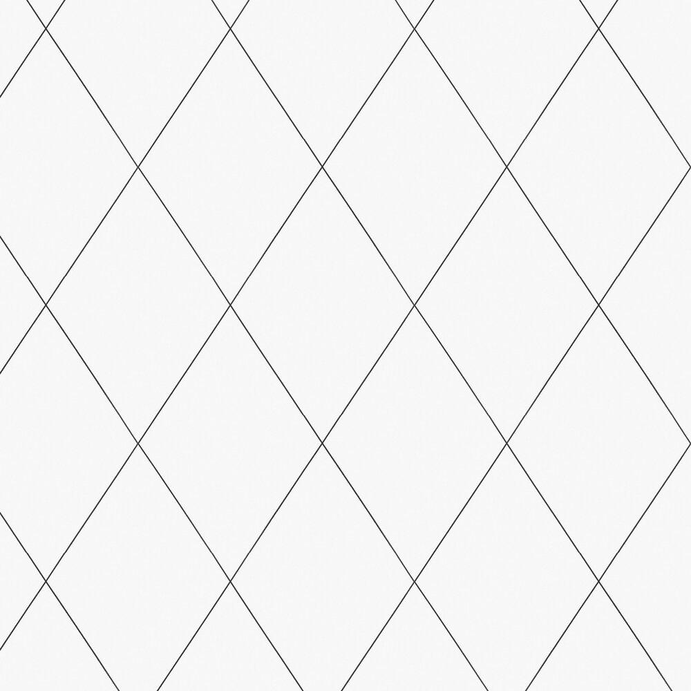 Sandberg Robin Black / White Wallpaper - Product code: 436-01