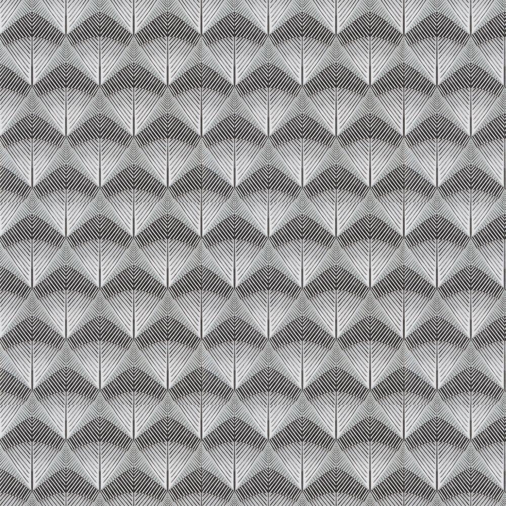Veren Wallpaper - Charcoal - by Designers Guild