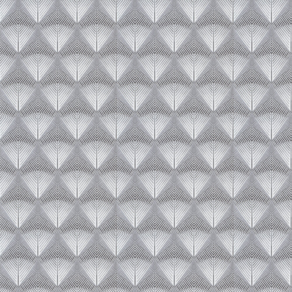 Veren Wallpaper - Graphite - by Designers Guild