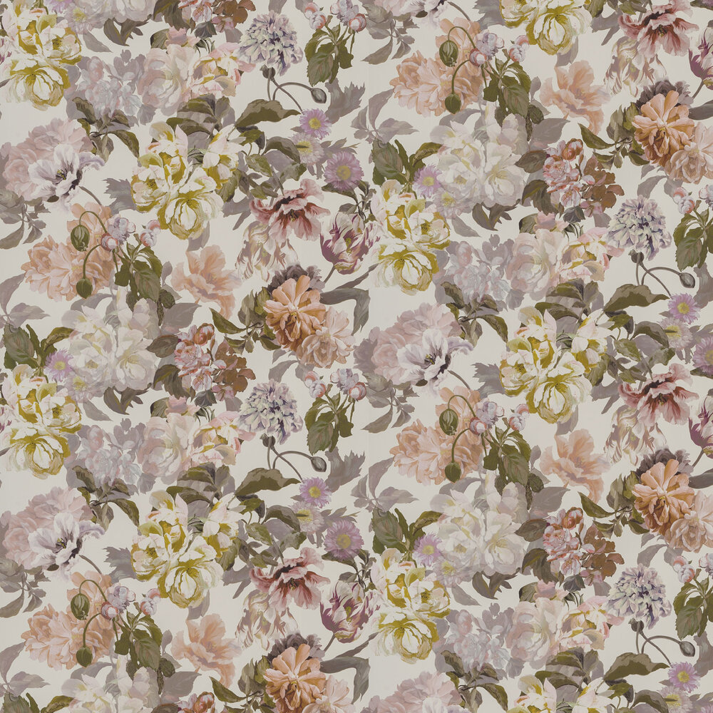 Delft Flower Wallpaper - Linen - by Designers Guild