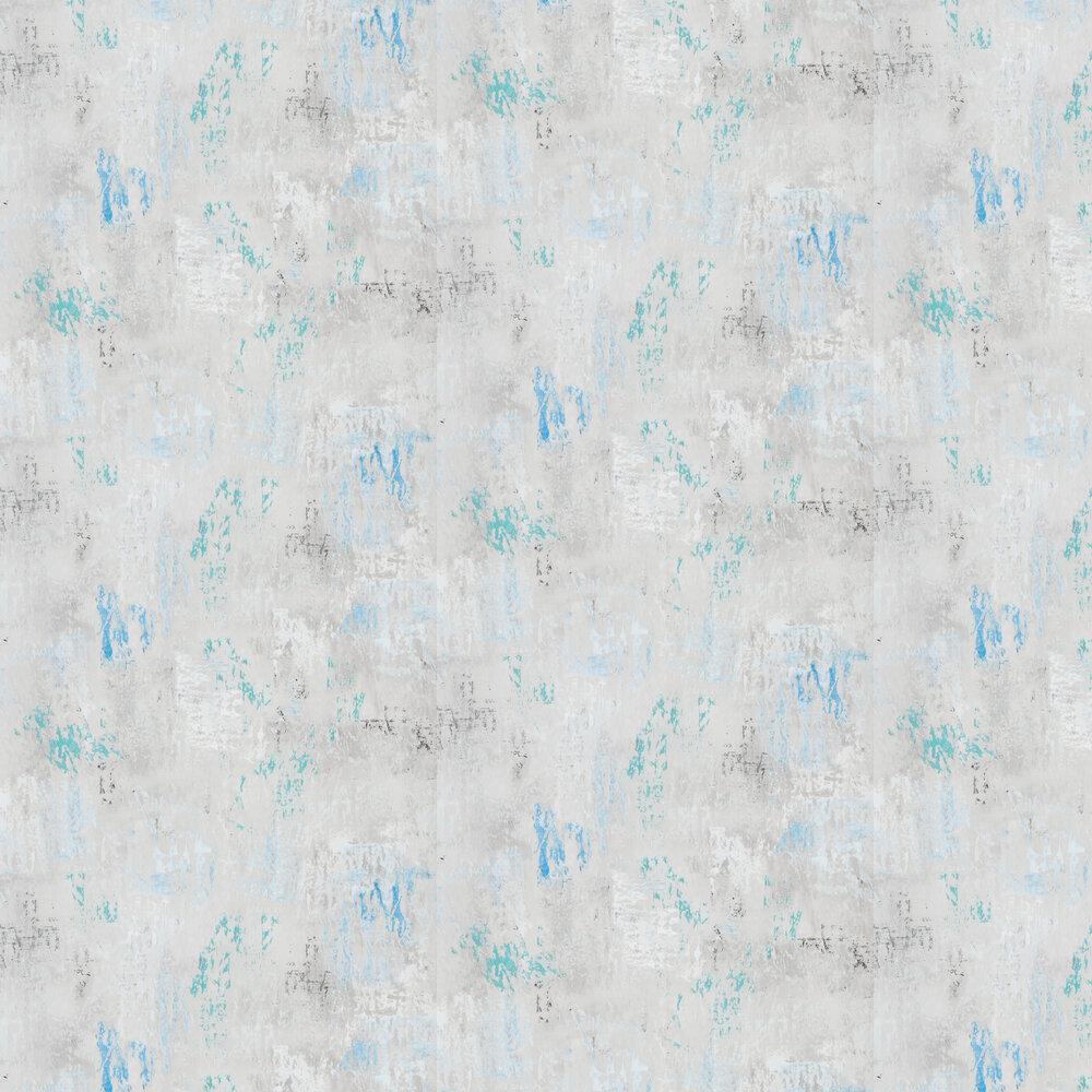 Impasto Wallpaper - Ocean - by Designers Guild