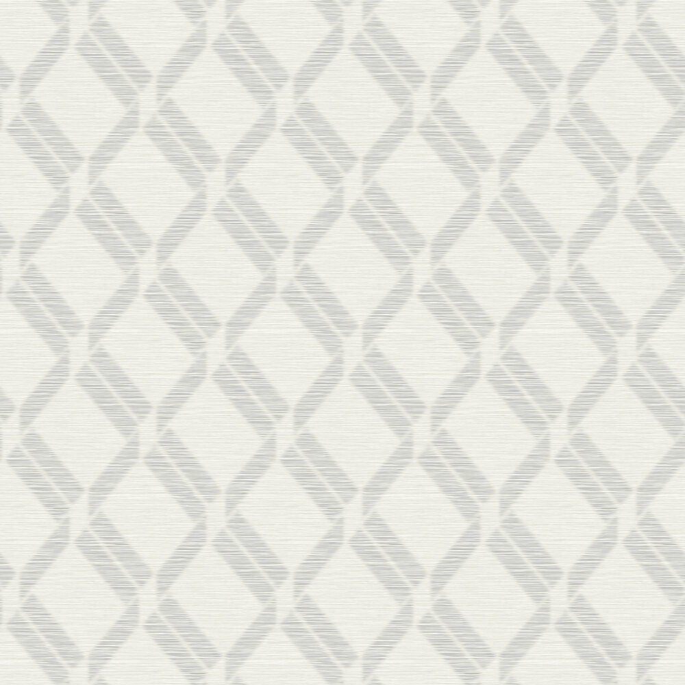 Elizabeth Ockford Grancia Pale Grey Wallpaper - Product code: WP0100302
