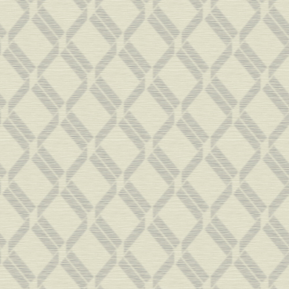 Elizabeth Ockford Grancia Stone Grey Wallpaper - Product code: WP0100303