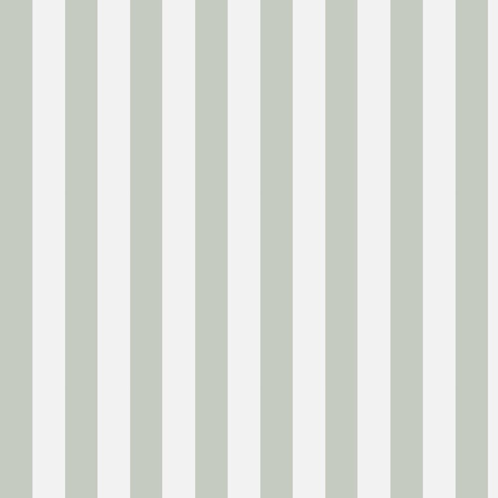 Cole & Son Glastonbury Stripe Sage Wallpaper - Product code: 96/4020