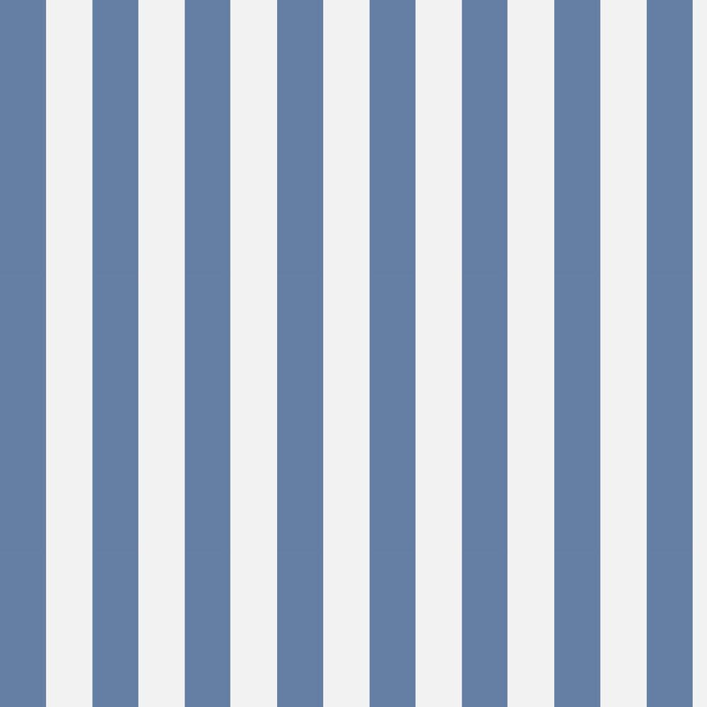 Glastonbury Stripe Wallpaper - Nautical Blue - by Cole & Son