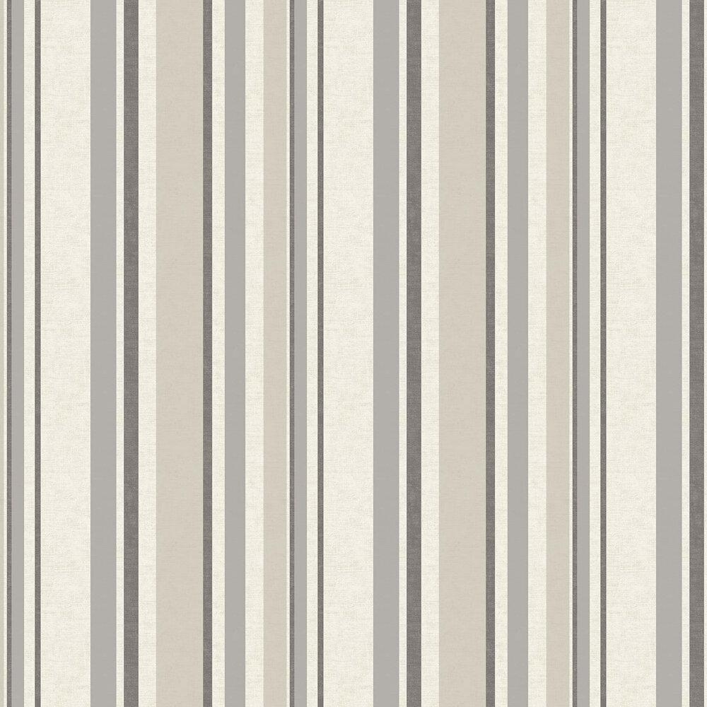 Elizabeth Ockford Lorenzo Oatmeal / Charcoal Wallpaper - Product code: WP0100702