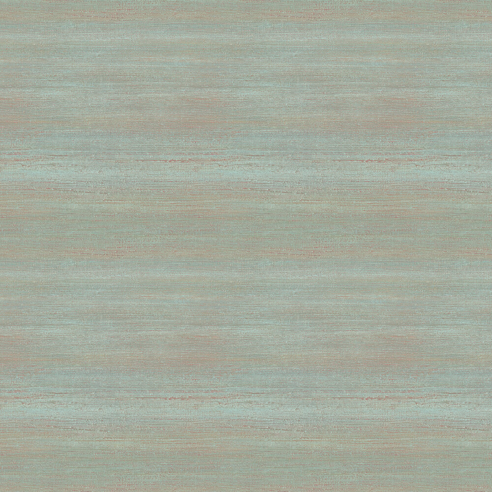 Elizabeth Ockford Lavena Green / Copper Wallpaper - Product code: WP0100903