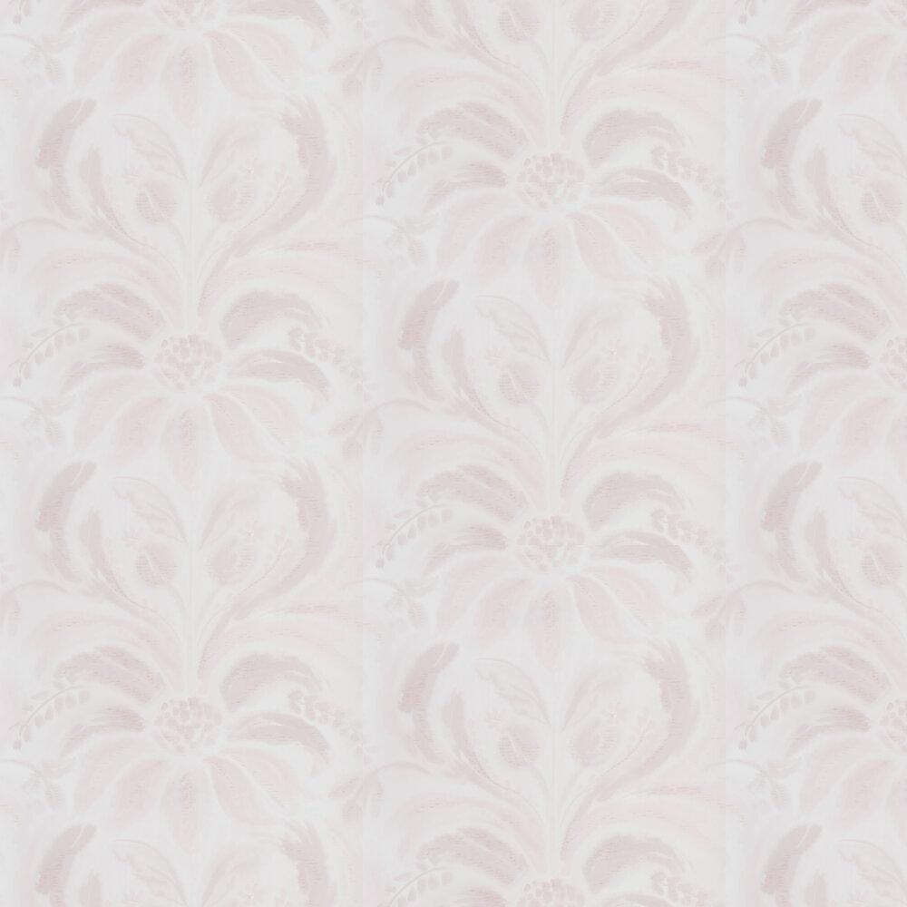 Angelique Damask Wallpaper - Blossom - by Designers Guild