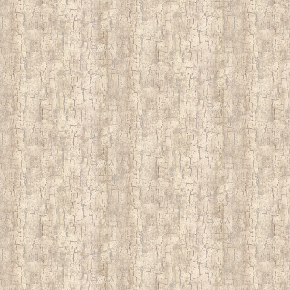 Tree Bark Wallpaper - Parchment - by Clarke & Clarke