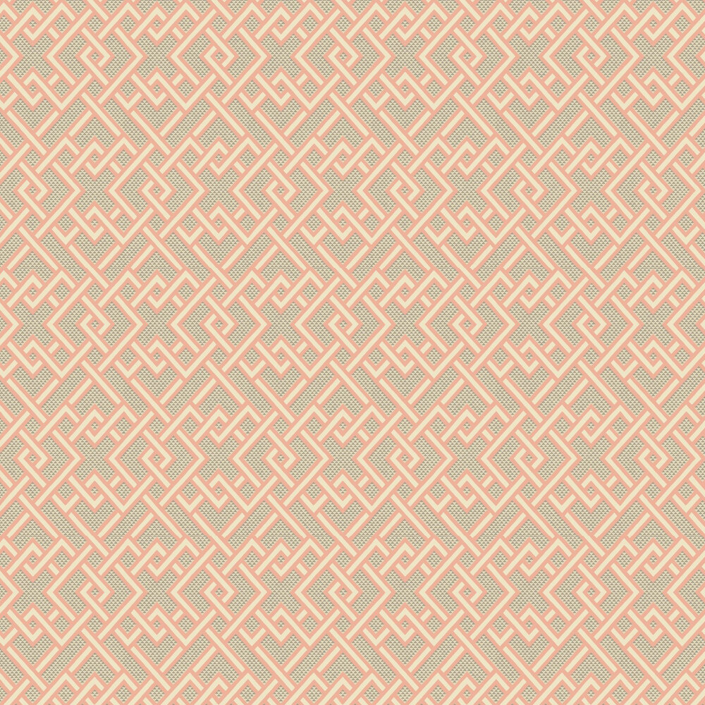 Linwood Pagoda Sherbet Wallpaper - Product code: LW070/001