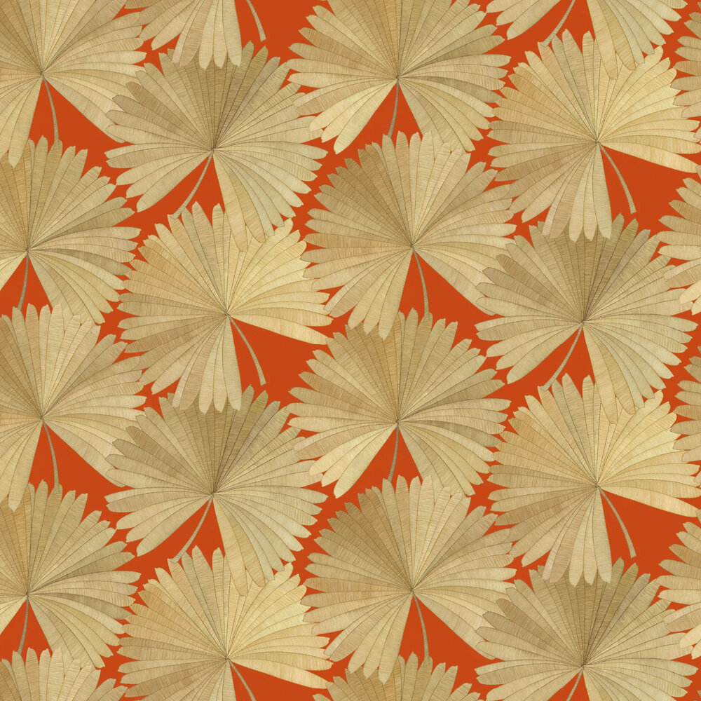 Linwood Bangkok Nights Vermillion Wallpaper - Product code: LW072/003
