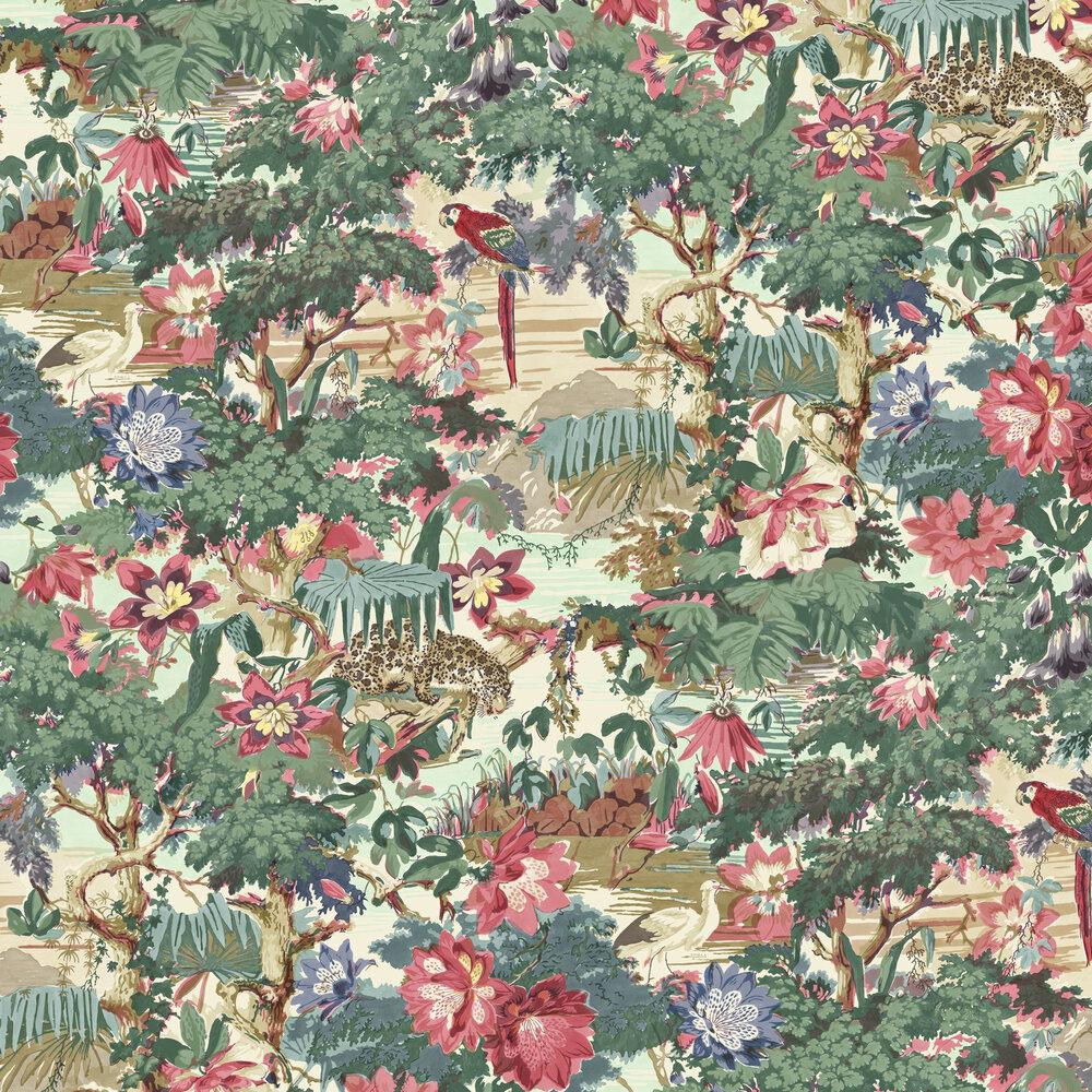 Linwood Jungle Rumble Parrot Wallpaper - Product code: LW076/001