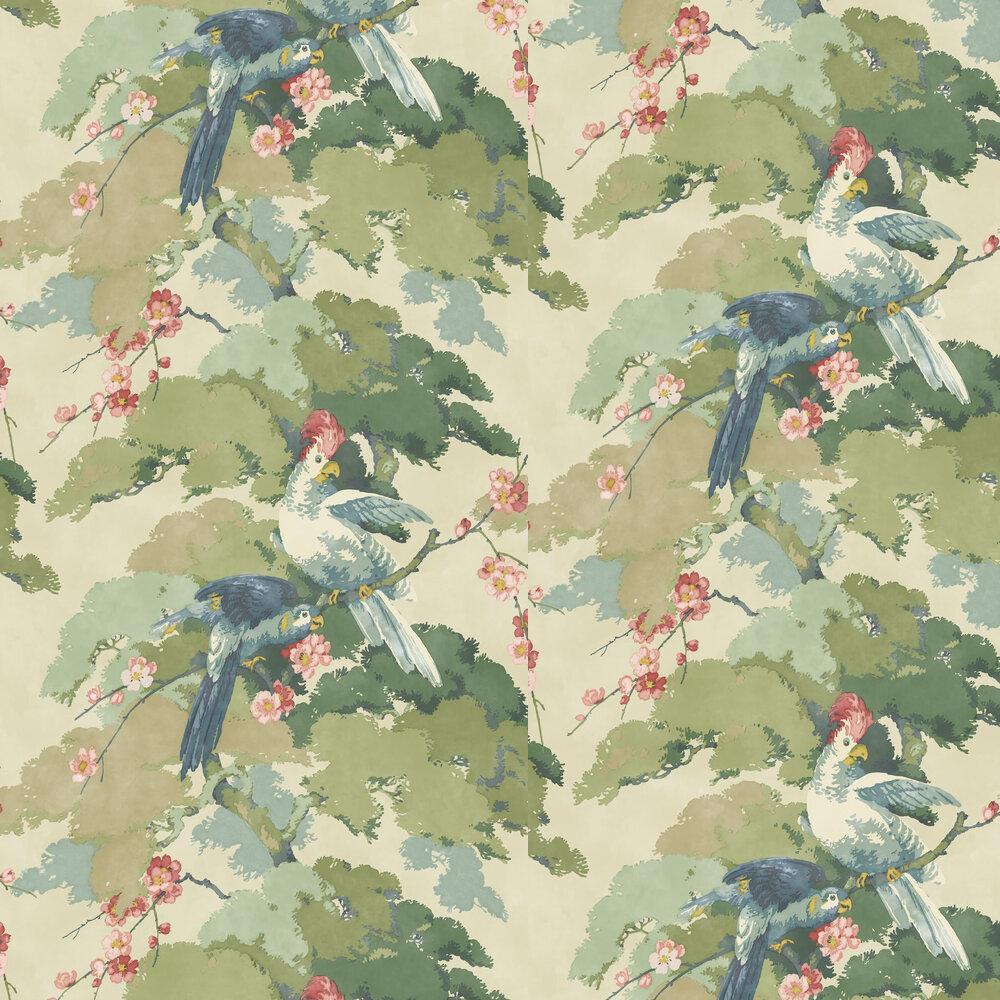 Linwood Jungle Jive Blossom Wallpaper - Product code: LW078/001
