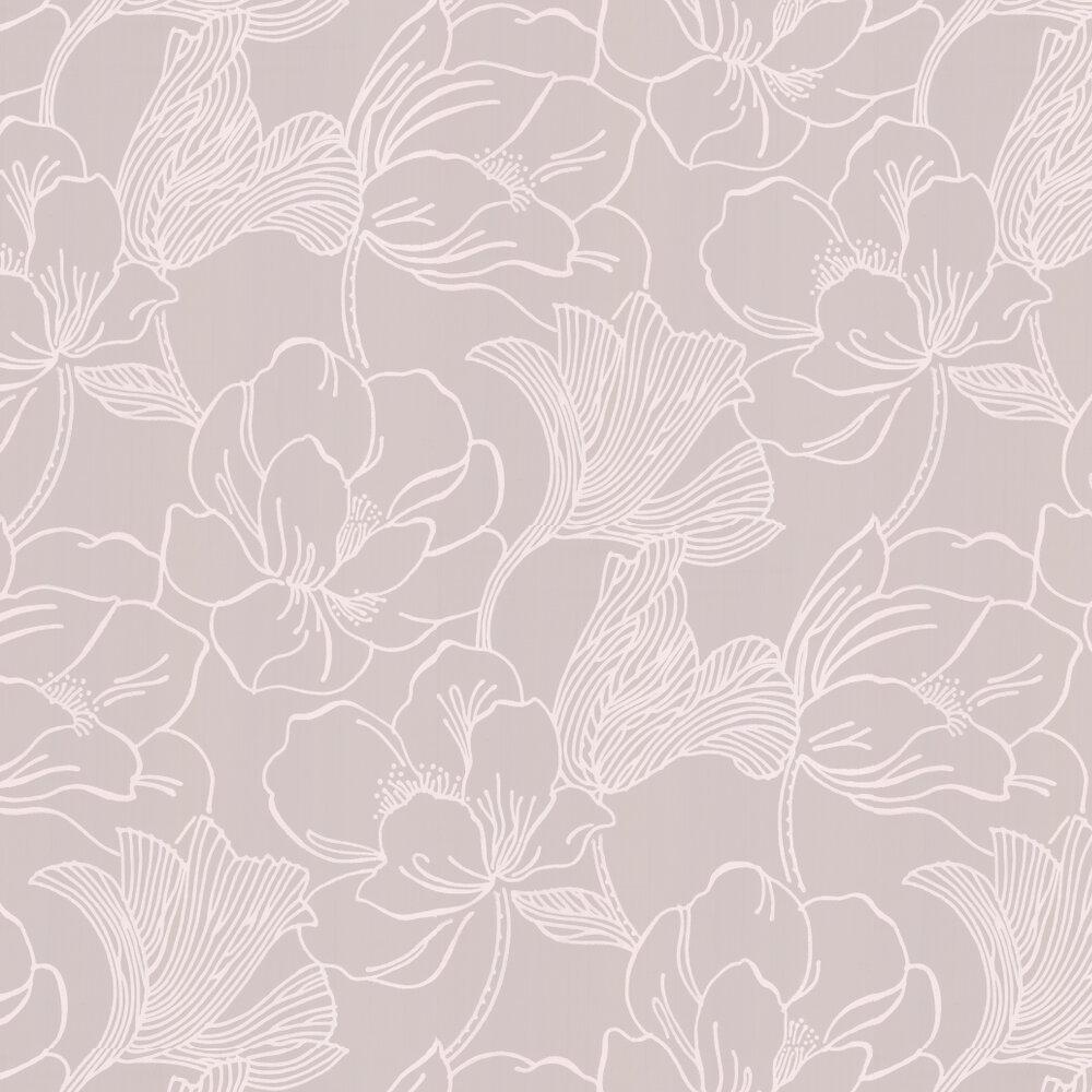 Farrow & Ball Helleborus Soft Grey Wallpaper - Product code: BP 5603