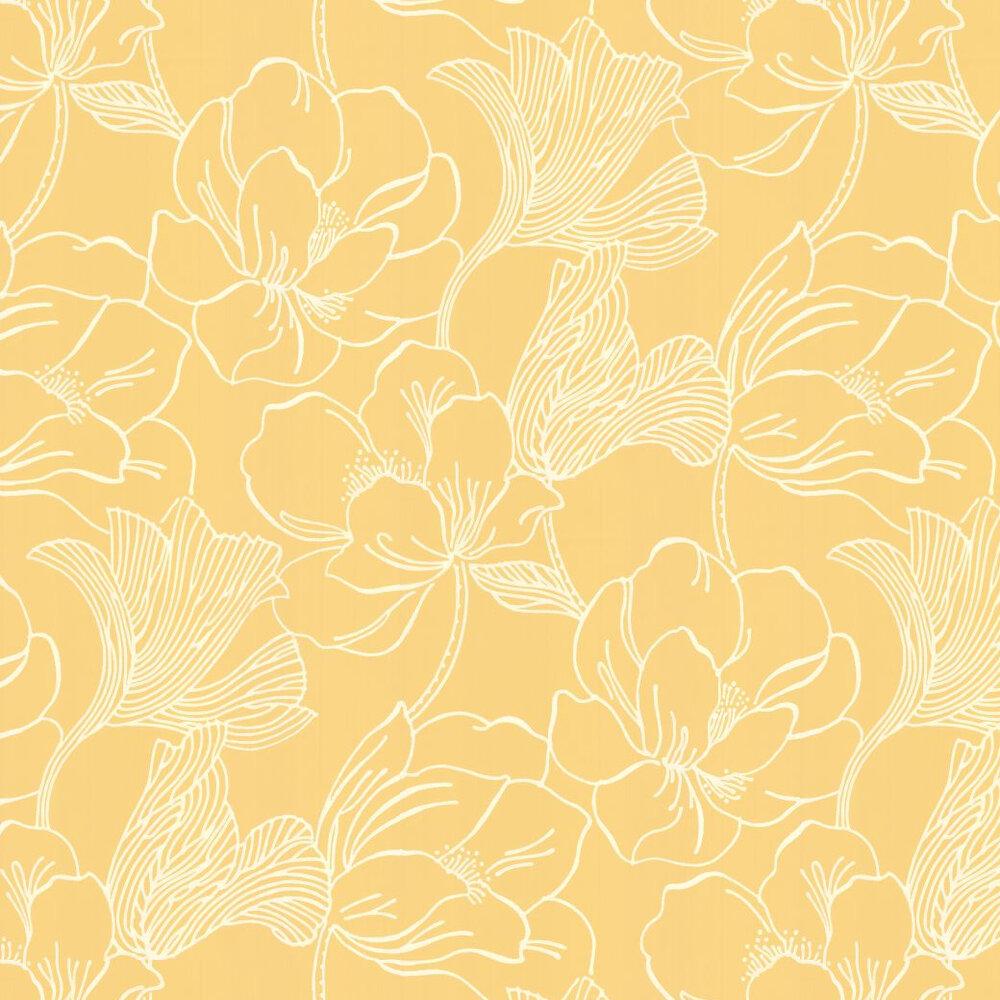 Farrow & Ball Helleborus Yellow Wallpaper - Product code: BP 5607