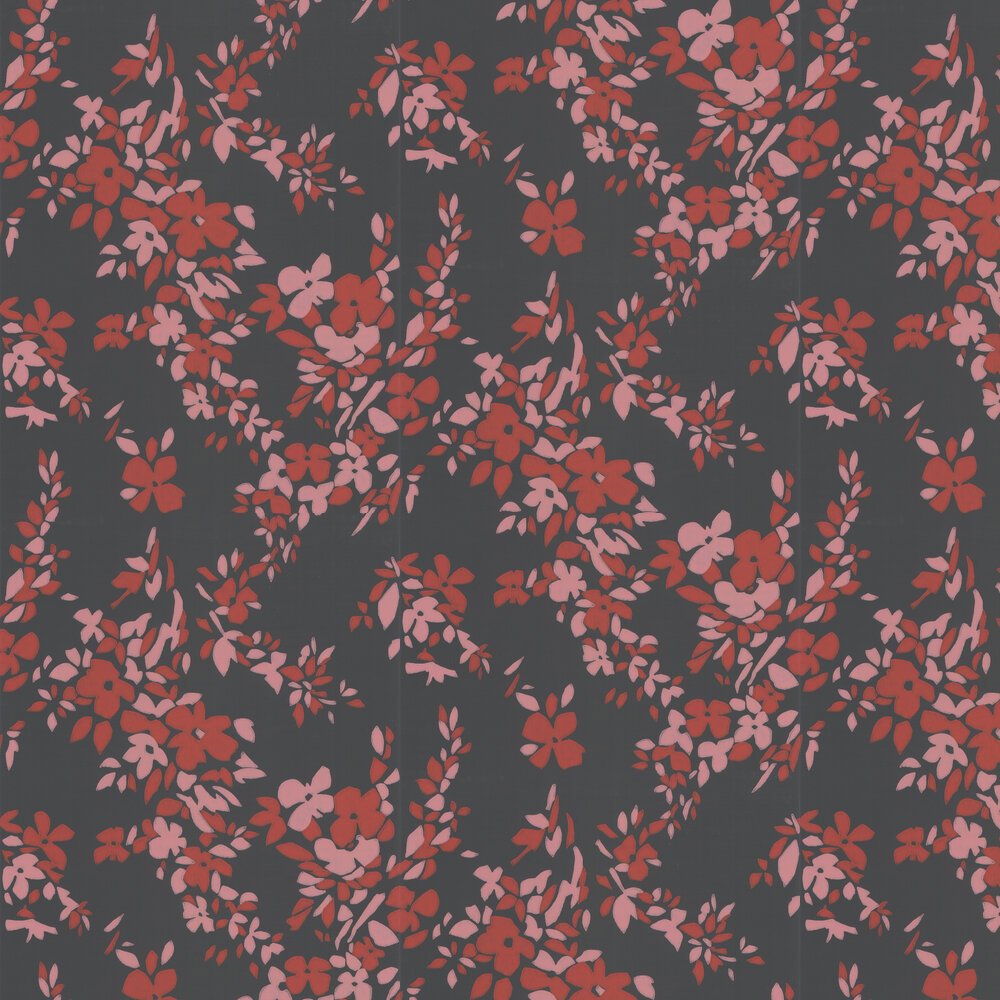 Farrow & Ball Hegemone Black Wallpaper - Product code: BP 5707