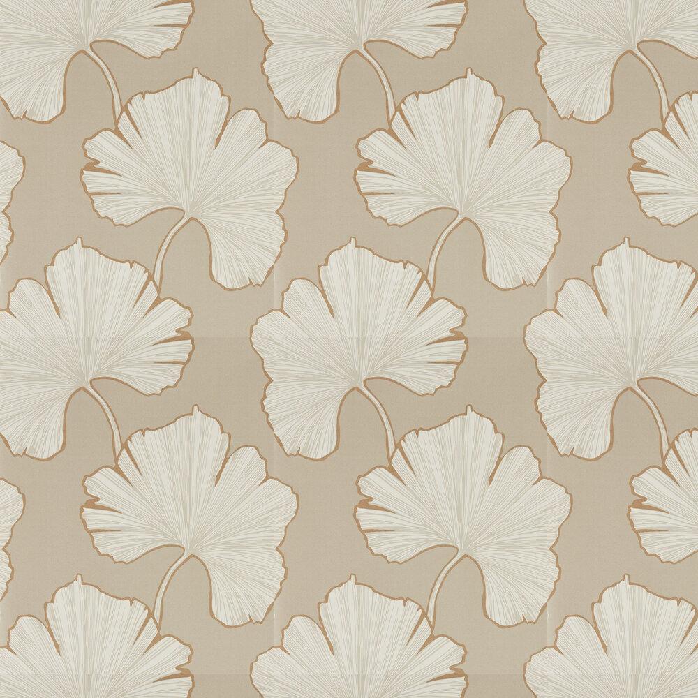 Azurea  Wallpaper - Champagne - by Harlequin