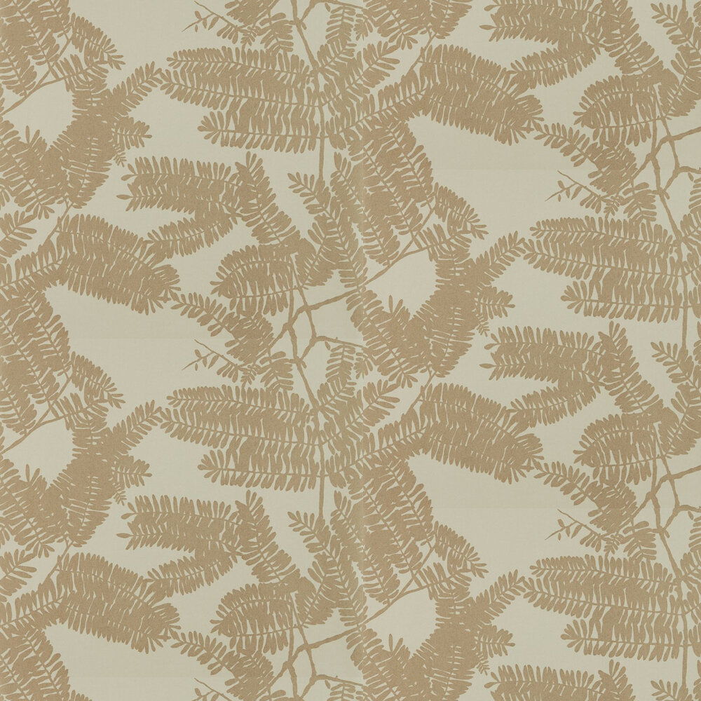 Extravagance Wallpaper - Gold - by Harlequin