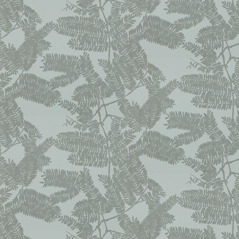 Extravagance Wallpaper - Powder Blue - by Harlequin