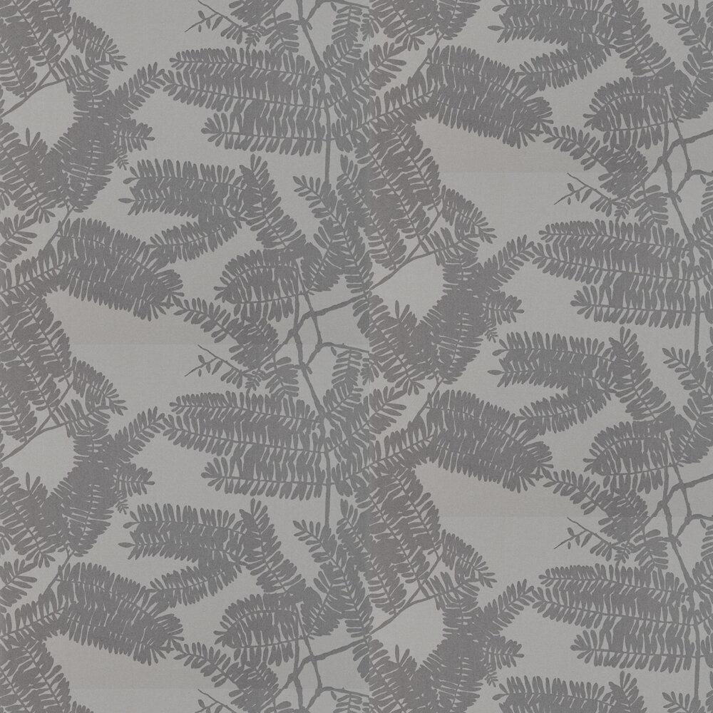 Extravagance Wallpaper - Platinum - by Harlequin