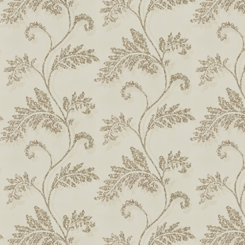 Lucero Wallpaper - Champagne - by Harlequin