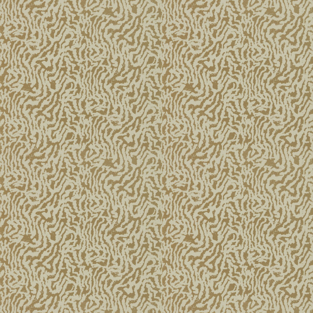 Seduire Wallpaper - Champagne & Gold - by Harlequin