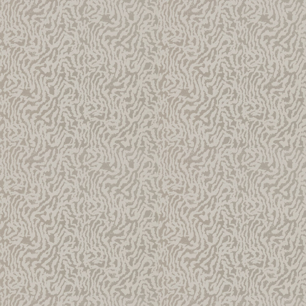 Seduire Wallpaper - Oyster & Pearl - by Harlequin
