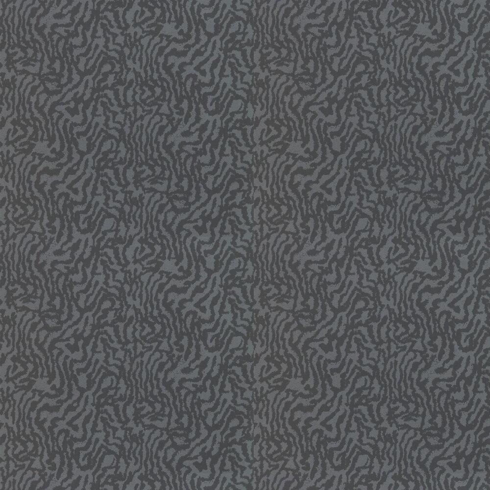 Seduire Wallpaper - Platinum & Pewter - by Harlequin