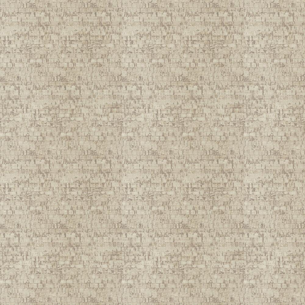 Cork Wallpaper - Beige - by Casadeco