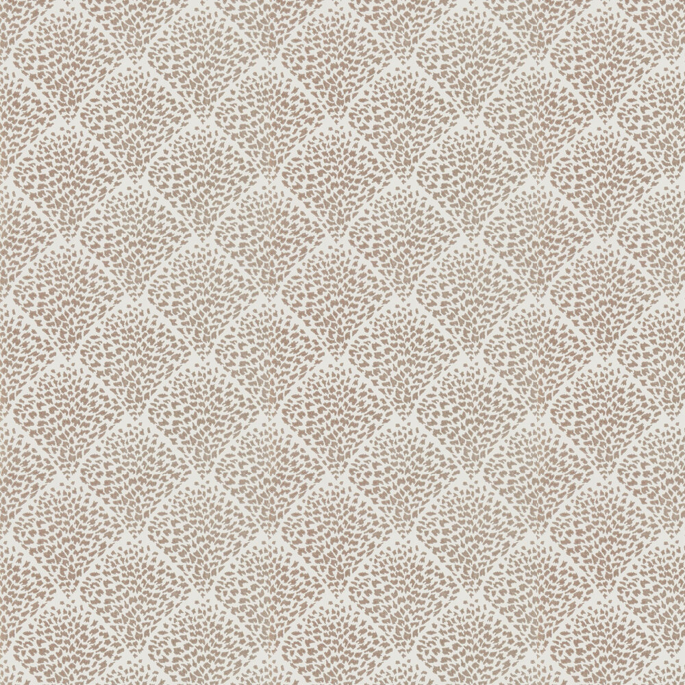 Charm Wallpaper - Rose Gold & Powder - by Harlequin
