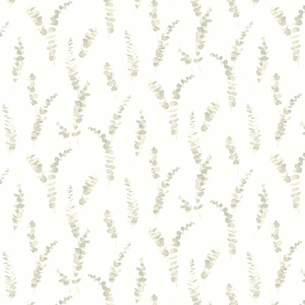 Eucalyptus Wallpaper - Almond - by Casadeco