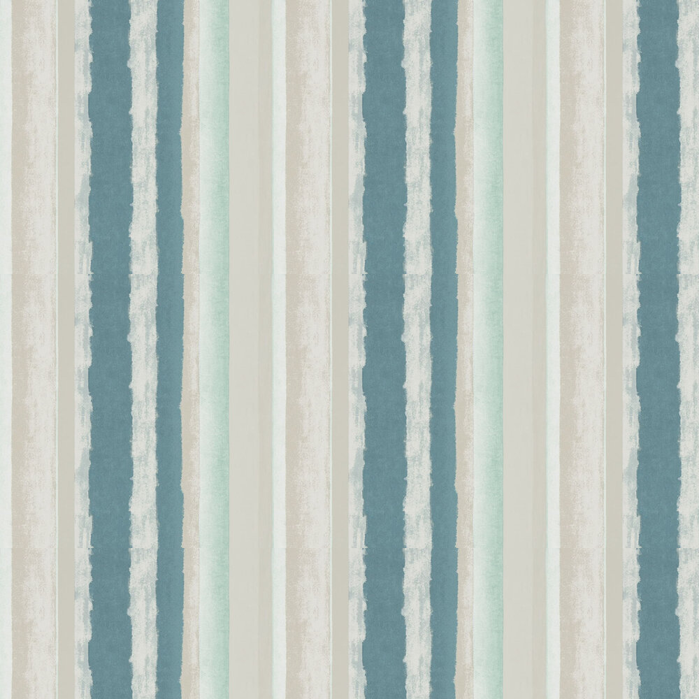 Rene Wallpaper - Emerald and Ochre - by Harlequin