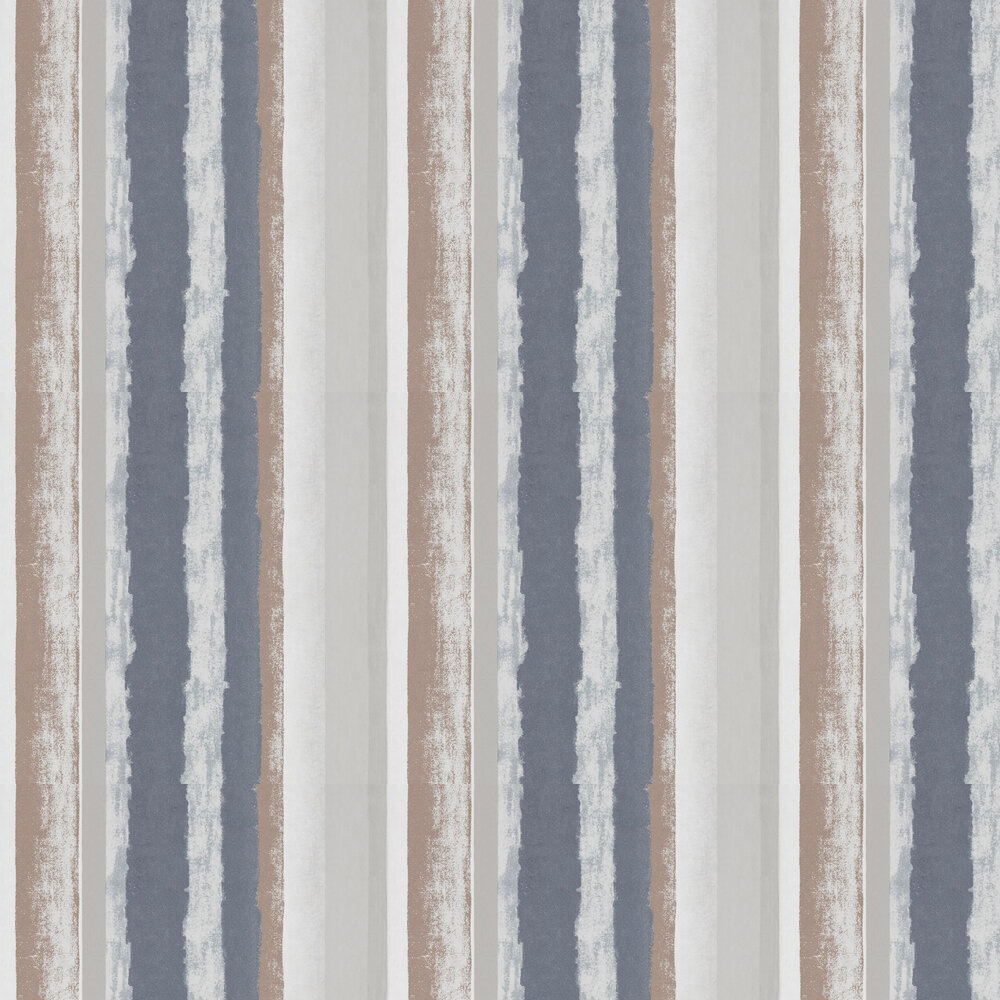 Rene Wallpaper - Copper and Kohl - by Harlequin
