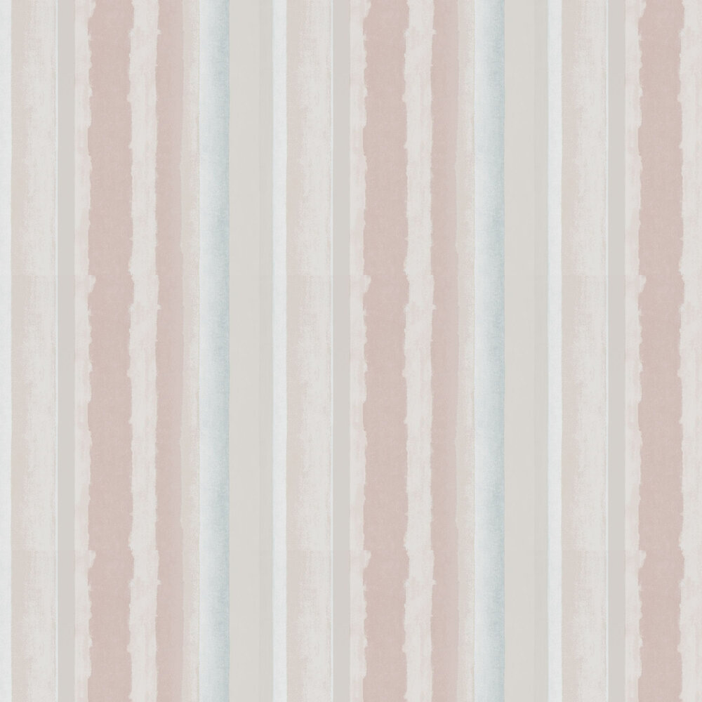Rene Wallpaper - Blush and Steel - by Harlequin
