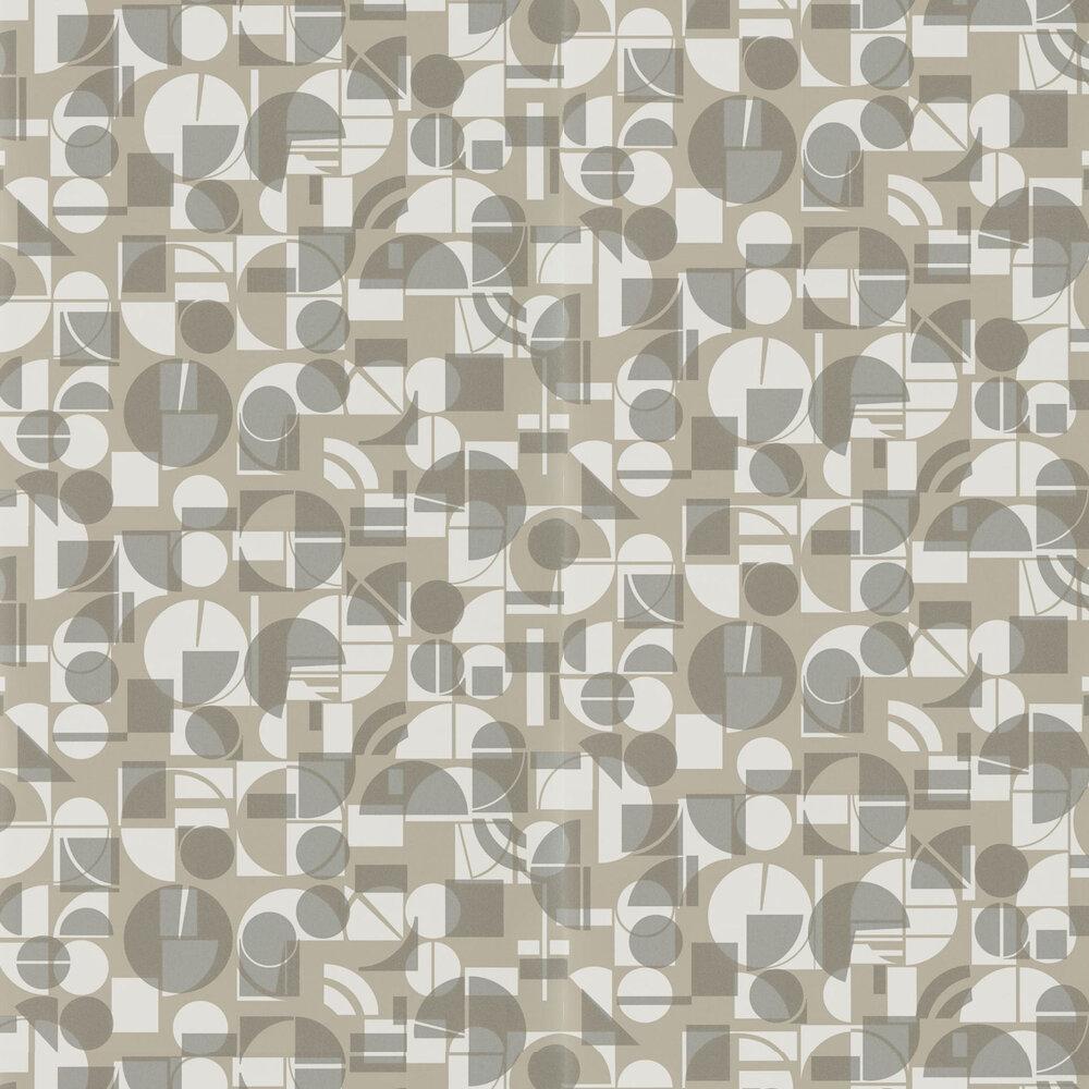 Harlequin Segments Slate and Chalk Wallpaper - Product code: 111683