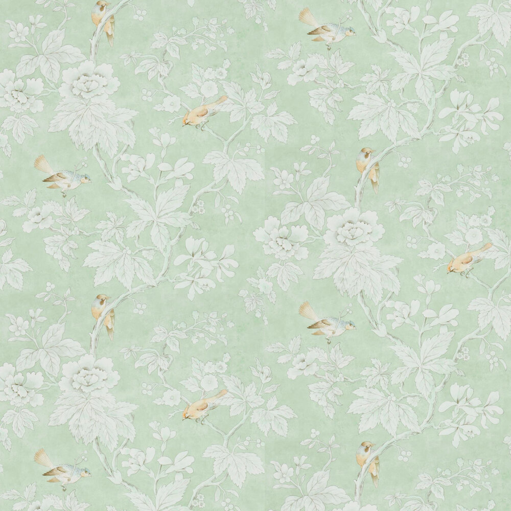 Sanderson Chiswick Grove Sage Wallpaper - Product code: 216387