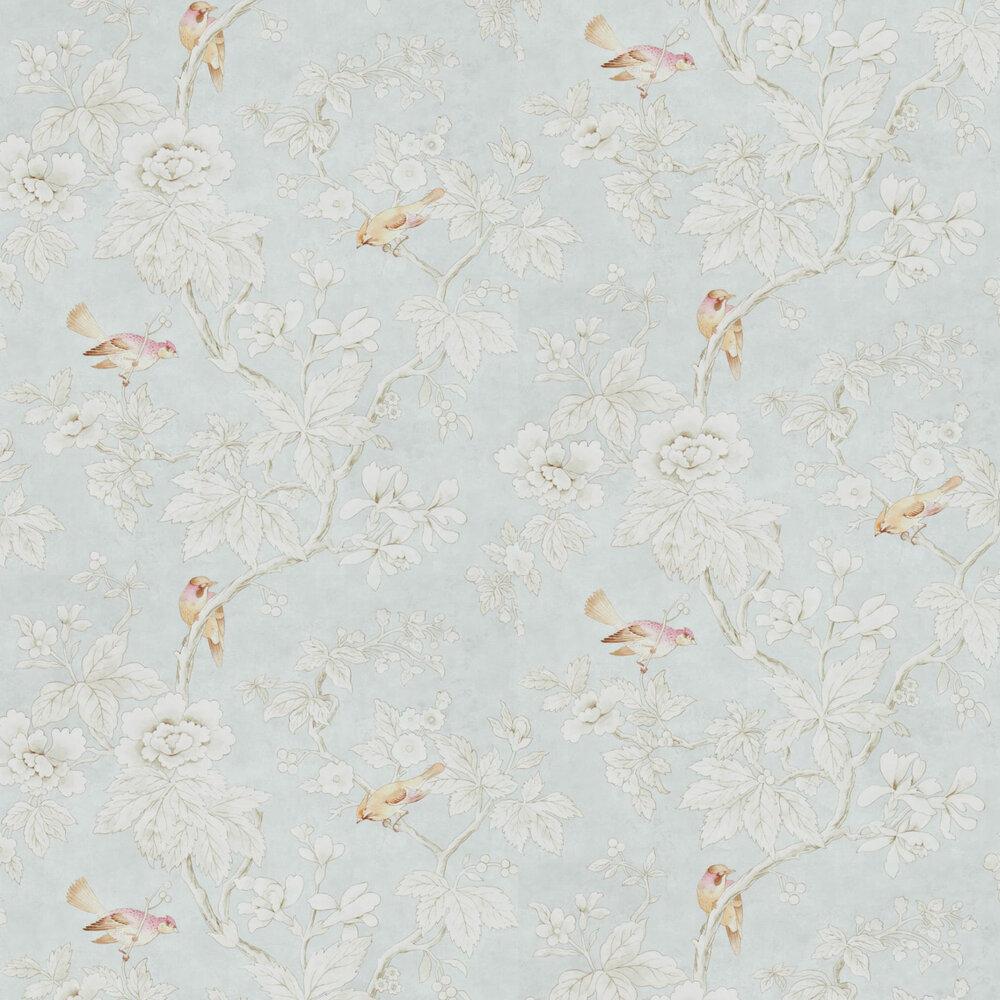 Sanderson Chiswick Grove Silver Wallpaper - Product code: 216388