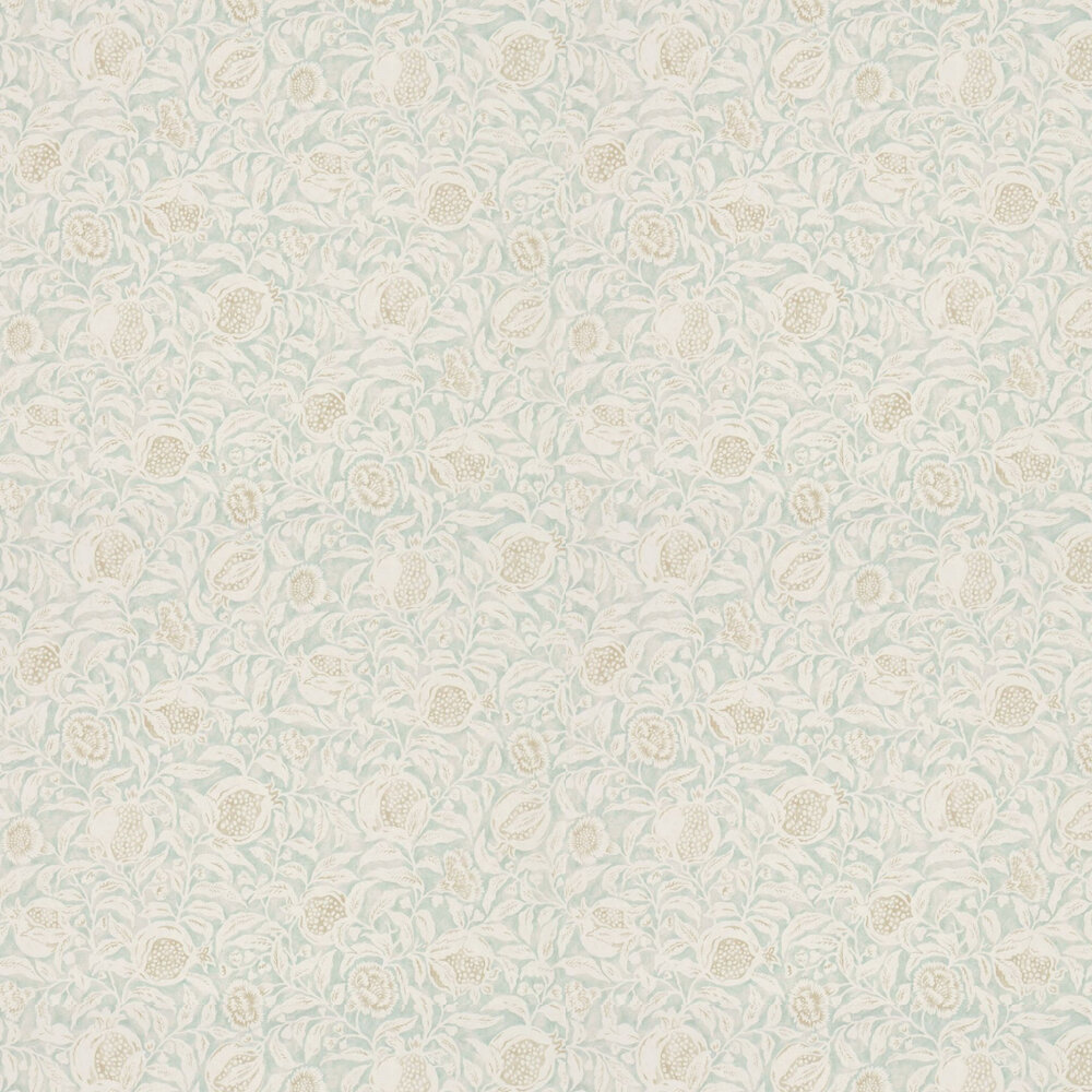 Annandale Wallpaper - Wedgwood / Linen - by Sanderson